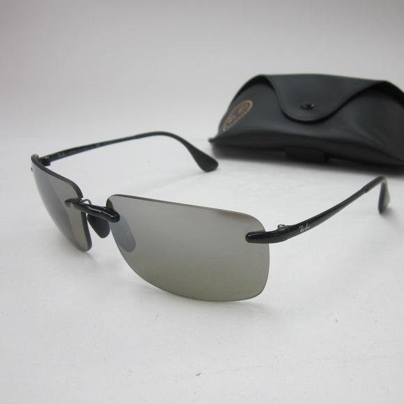 560a30e22f0 RayBan RB 4255 601 5J Polarized Sunglasses OLG508.  M 5b76f512e944ba974b213161